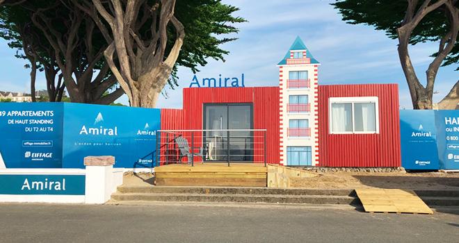 Bureau de vente - Amiral