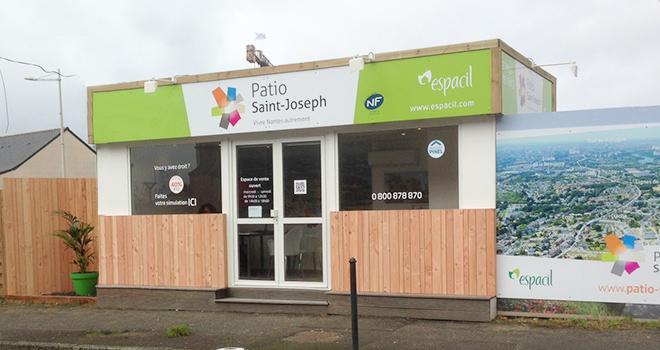 Bureau de vente du Patio Saint-Joseph à Nantes