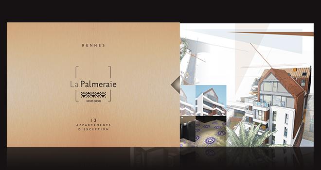 La Palmeraie à Rennes, une communication de prestige pour des appartements d'exception
