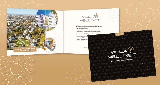 Flyer pour Villa Mellinet à Nantes