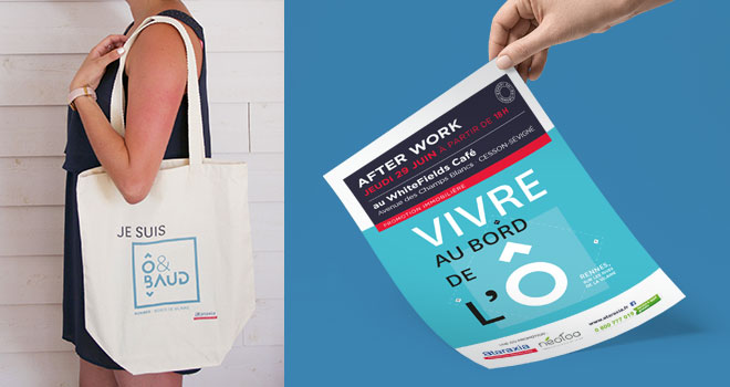 Totebag et invitation afterwork