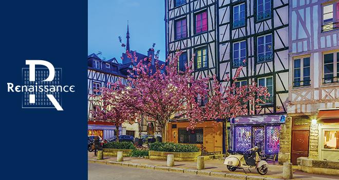 Rouen, porte d'entrée de la Normandie