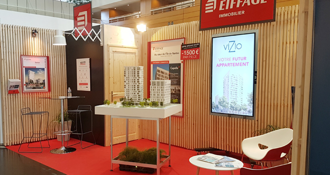 Stand Eiffage Immobilier