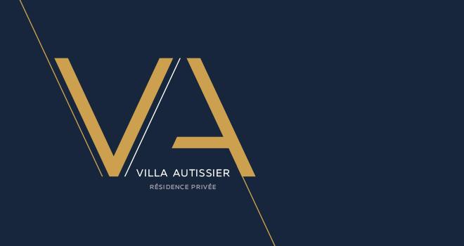 Identité visuelle Villa Autissier