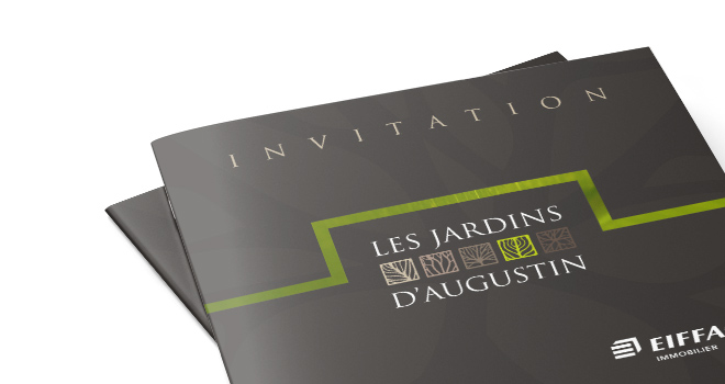 Invitation Lancement Commercial Les Jardins d'Augustin