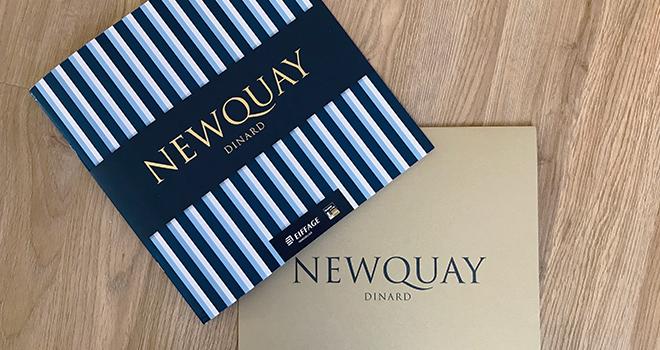 Plaquette et fourreau- Eiffage Newquay