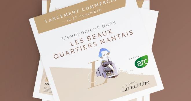 Dépliant publicitaire - Cours Lamartine